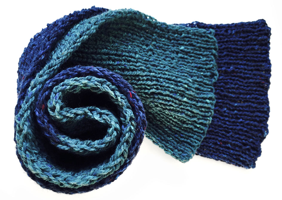 knit/lab - donegal scarf